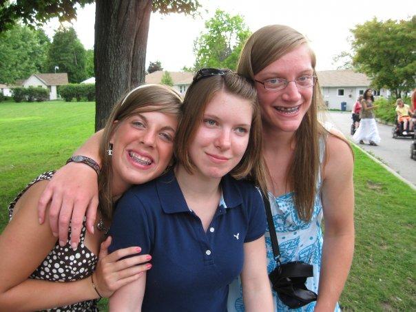 Katie, Hanako & I, Merrywood, 2008