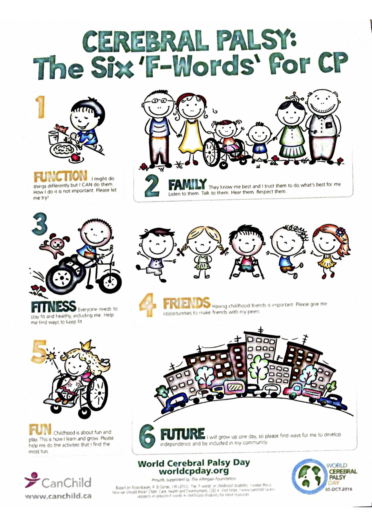 What its growing up cerebral palsy disability