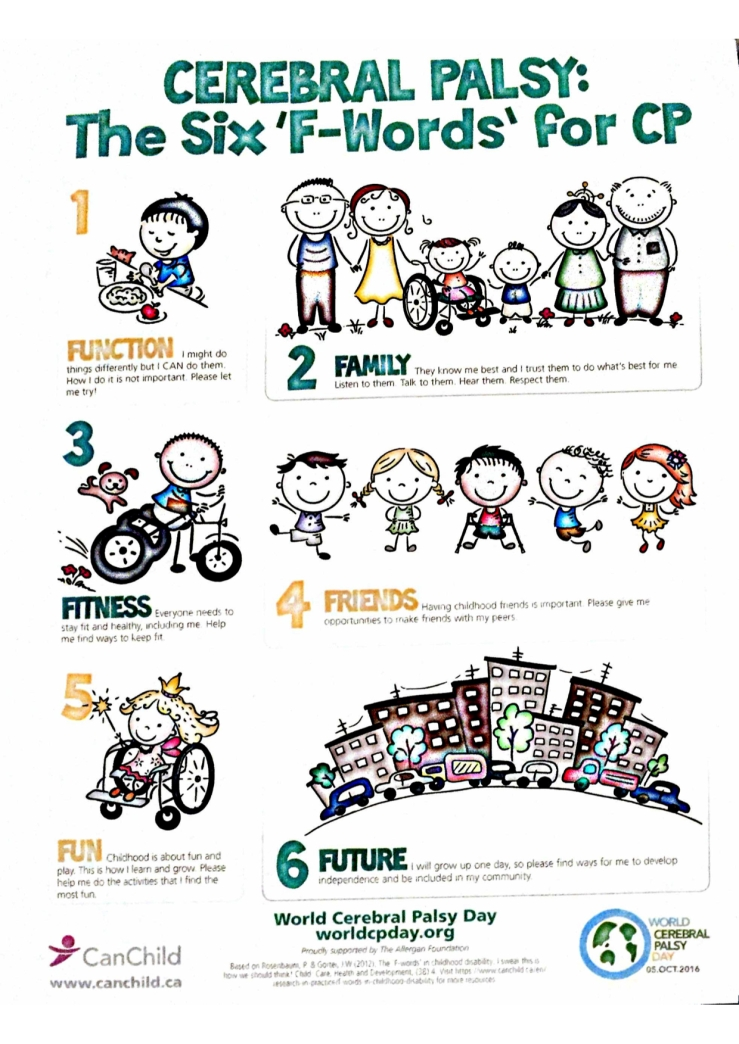 Cerebral Palsy: The Six F-Words for CP.